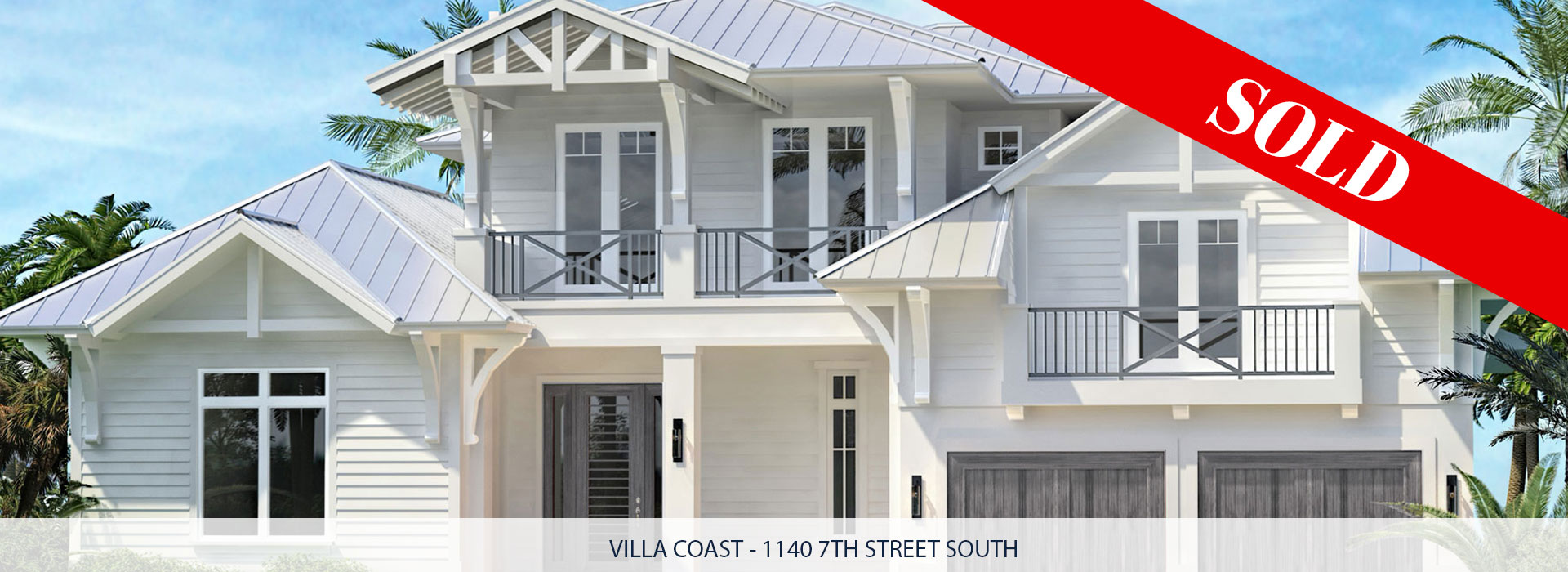 1140 7th Street South Naples, Florida Sold | Griffin Builders