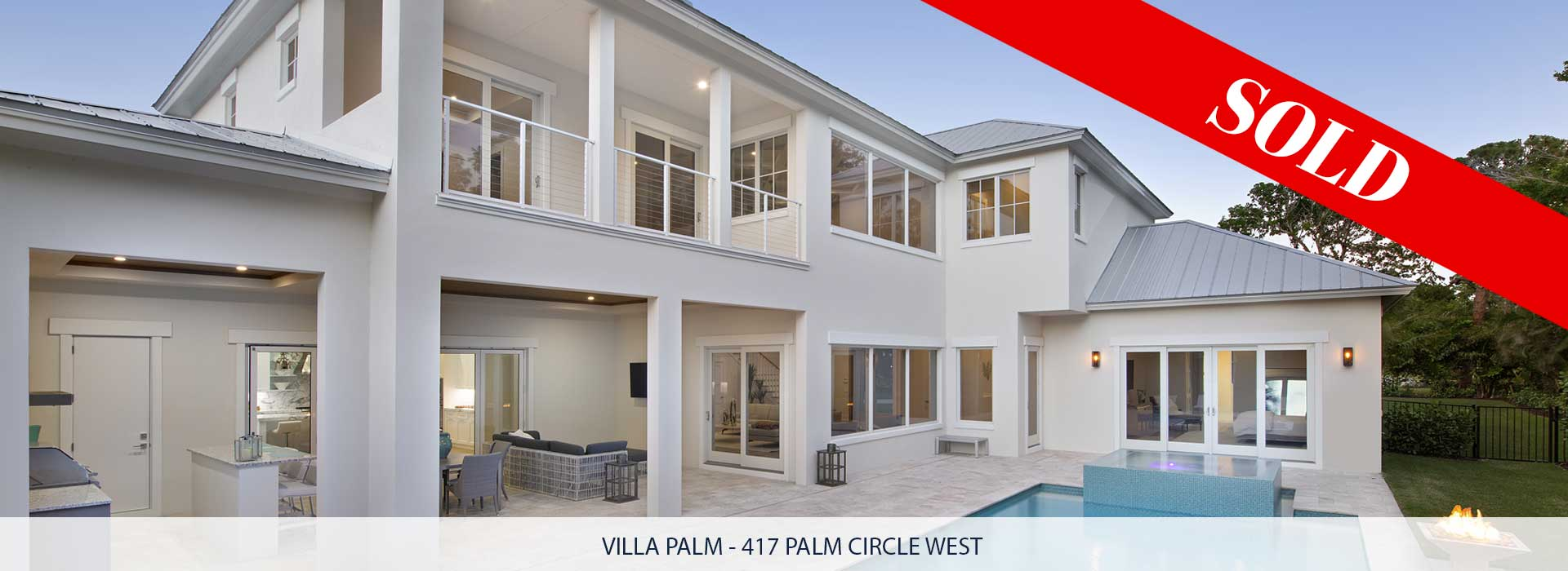 417 Villa Palm Circle Naples, Florida Sold | Griffin Builders